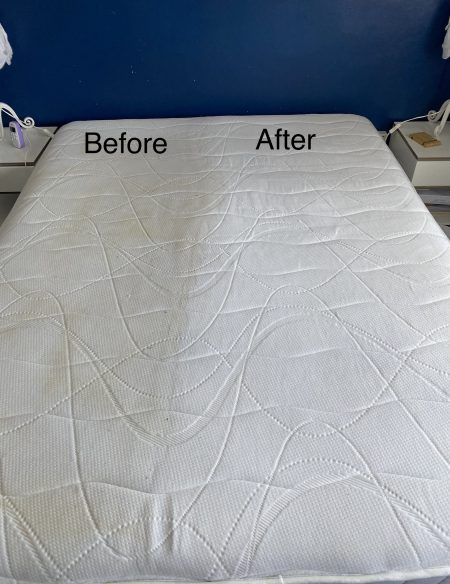 mattress before and after